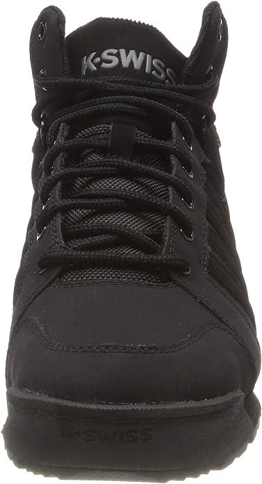 K-Swiss Norfolk SC Schuhe Herren Boots High Top Sneaker black charcoal 05677-022