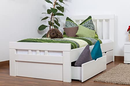 """5654fcd0bb2c Single bed""""Easy Furniture"""" K8 incl. 2 underbed drawer and 1 cover  plate"""