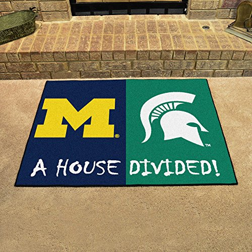 Fanmats Collegiate 34 x 45 in. House Divided