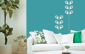 Buy Asian Paints Royale Play Wall Fashion Zari Stencilwall Sticker