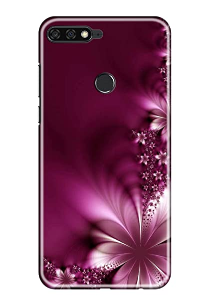 sale retailer 47e8c 0f7d4 Hupshy Printed Back Cover for Honor 7A - Multicolor