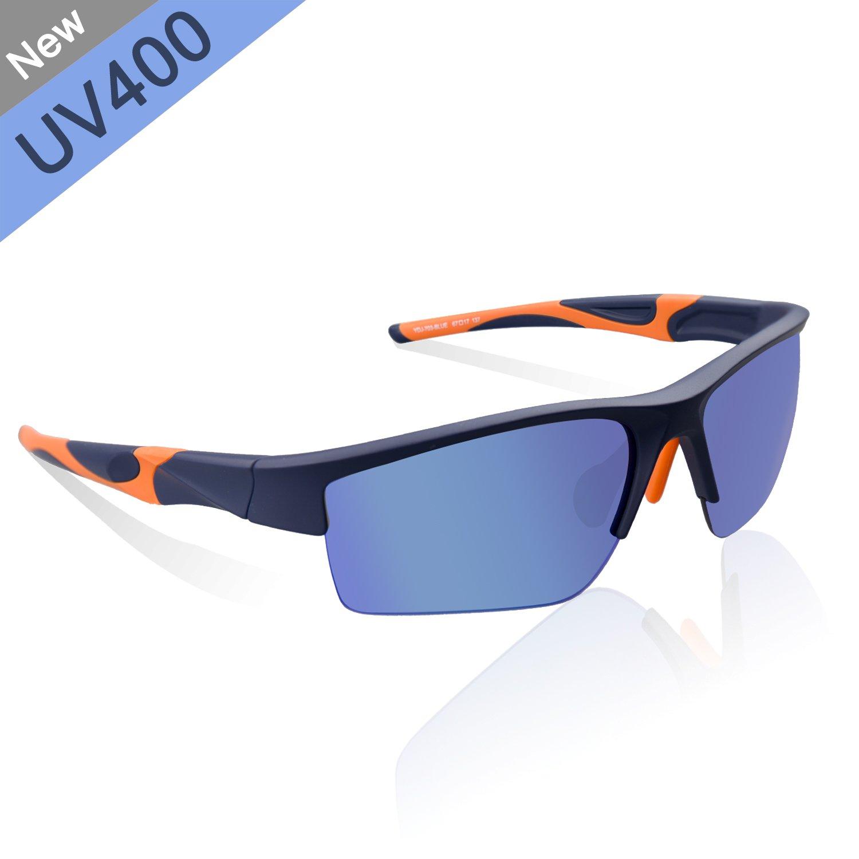 Zhara Sonnenbrille Radfahren Sportbrille polarisierte UV 400 Fahrradbrille Sonnenbrille Ski-Sonnenbrillen TR90