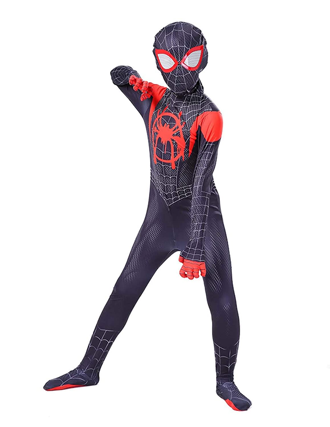 Tights for Children Boys or Adult One-piece Superhero Spiderman Costumes