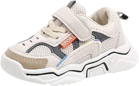 Luckycat Zapatillas Unisex Niños Zapatos para niños niños y niñas Calzado Deportivo para niños Cuero Zapatos Casuales para niños Escuela: Amazon.es: Bebé
