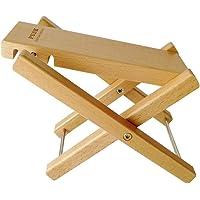 Boby - Reposapiés de madera para guitarra, reposapiés y pedal ajustable, soporte plegable para guitarra