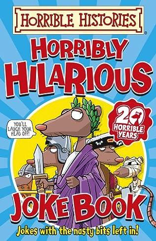 book cover of Horribly Hilarious Joke Book
