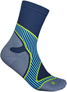 Bauerfeind Men's Performance Mid Cut Fitness, 1 Pair of Sports (Infinity Zone Technology), Running, Functional Socks
