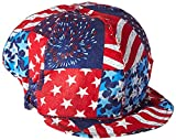US Forge 141 Cotton Welding Cap, USA Flag