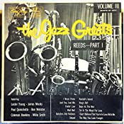 Various - VARIOUS THE JAZZ GREATS - REEDS PART 1 vinyl record