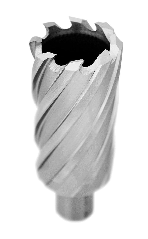 Accusize 2 Cutting Depth High Speed Steel Annular Cutters 2081-2040 2-3//16 Cutting Dia; 3//4 Weldon Shank