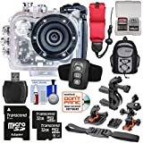 Intova HD2 Marine Grade HD Video Action Camera Camcorder with Video Light + (2x) 32GB Cards + Remote + Action Mounts + Backpack + Float Strap + Kit