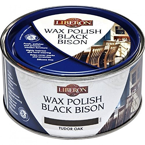 Black Bison Wax - Medium Oak Liberon Fine Paste Wax