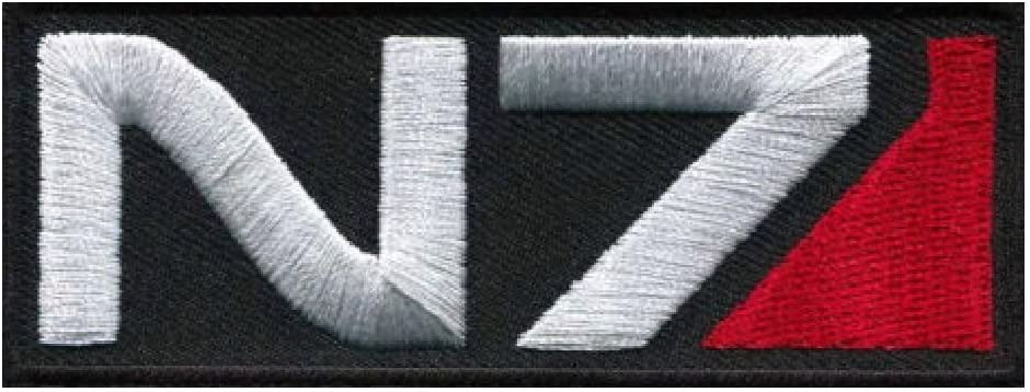 N7 Alliance Special Forces Embroidered Iron on Sew on PatchBadge For Clothes