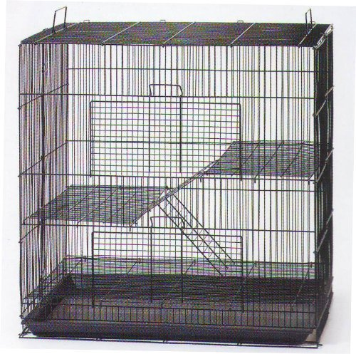 Ferret Chinchilla Rat - NEW 3 Levels Ferret Chinchilla Sugar Glider Rats Animal Cage 24
