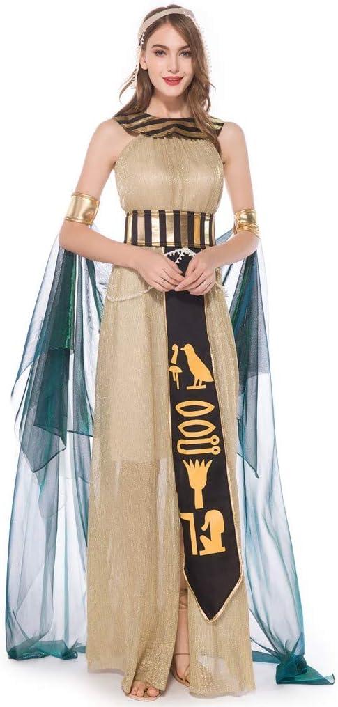 DENGZI Vestido Largo de Halloween para Mujer, Elegante, Cosplay ...