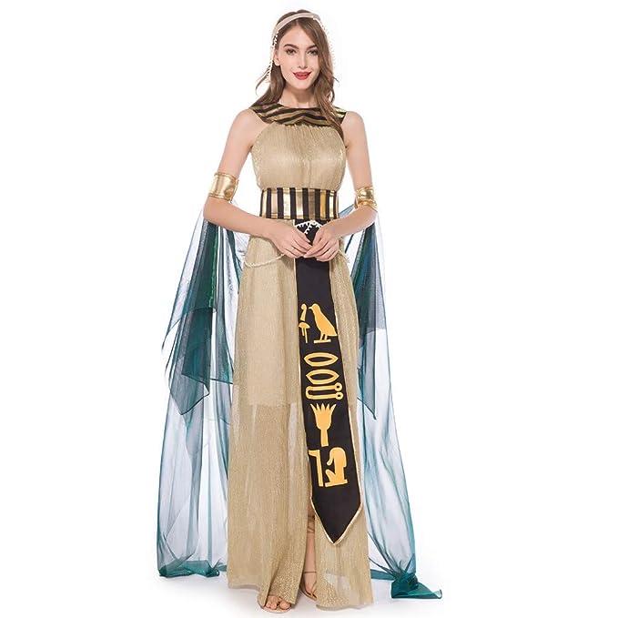 Mymyguoe Vestido de Cosplay de Halloween de Diosa Griega ...
