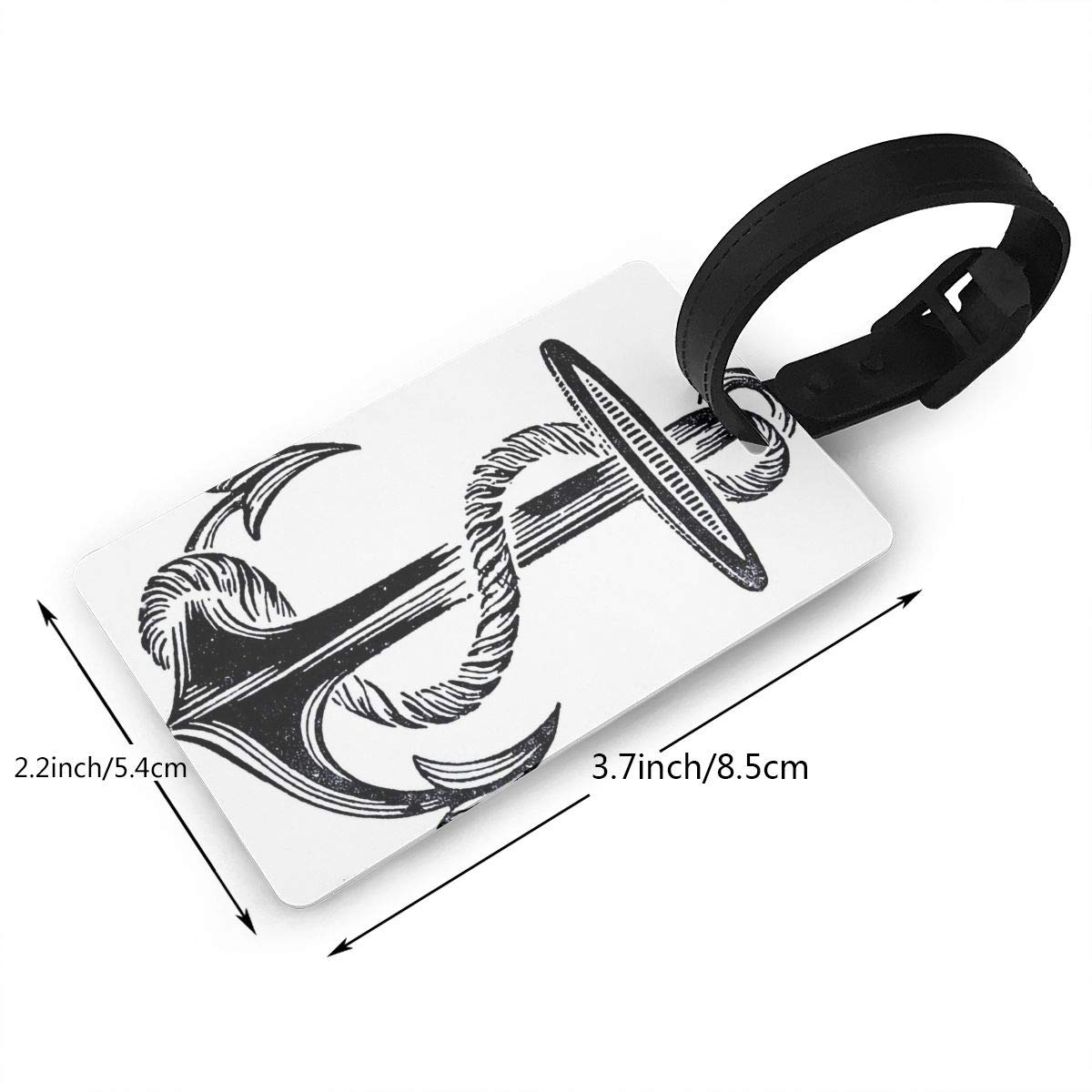 Anchors Handbag Tag For Travel Bag Suitcase Accessories 2 Pack Luggage Tags