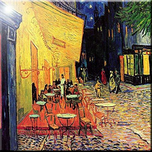 12 x 12 Rikki Knight Van Gogh Art Fields Design Ceramic Art Tile