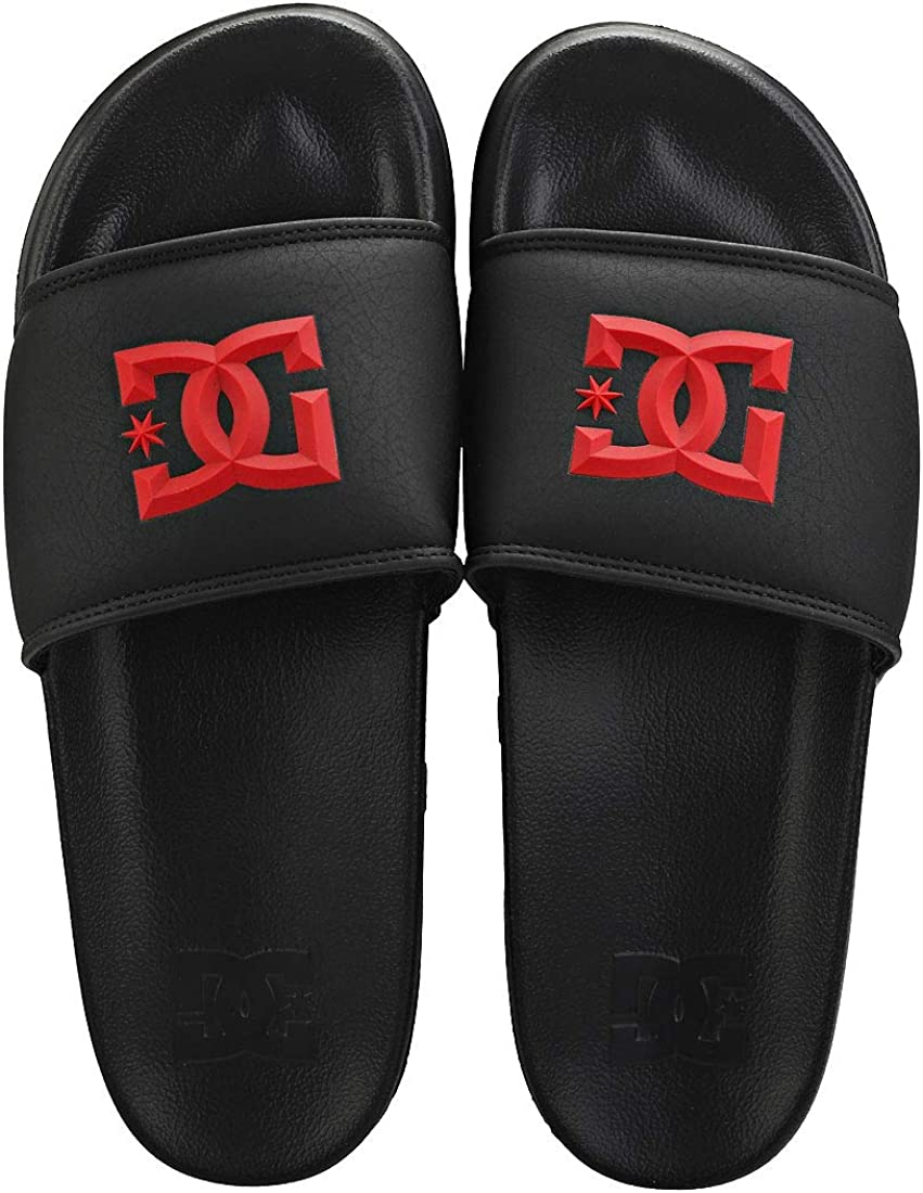 US:7 Black Red DC Shoes Mens Beach /& Pool Shoes