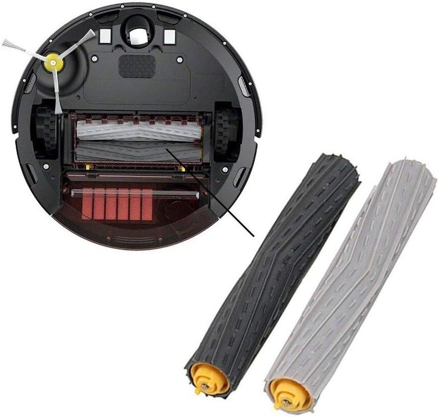 MIRTUX 2 Pack di rulli estrattori compatibili con Roomba 800 e 900 Kit spazzola centrale in gomma ricambi di qualit/à.