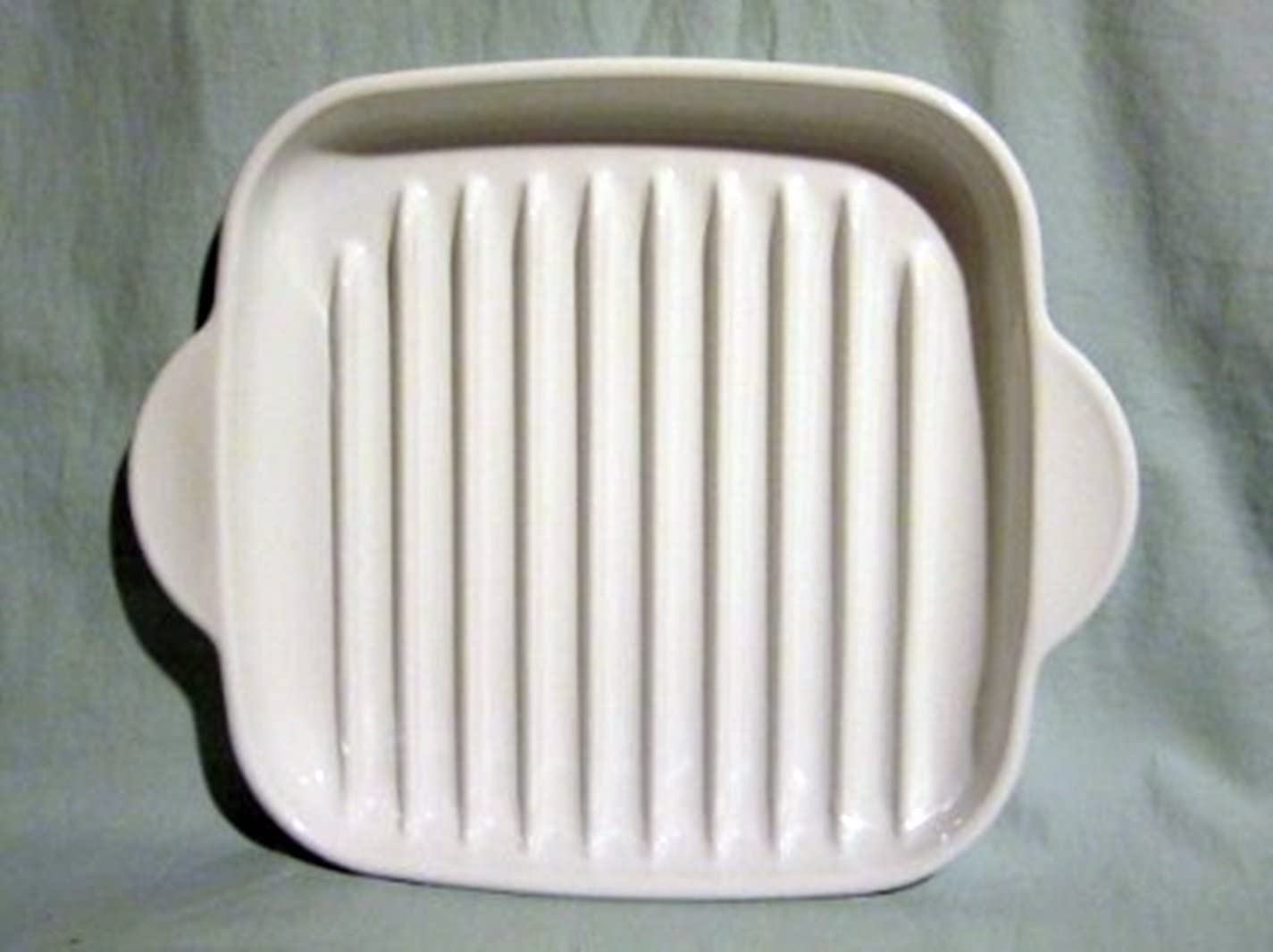 CORNING WARE BACON/GRILL BROWNING RACK MICROWAVE/OVEN MODEL # MR-3