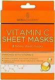 Skin Academy Sheet Masks - Vitamin C, 2 Sheets