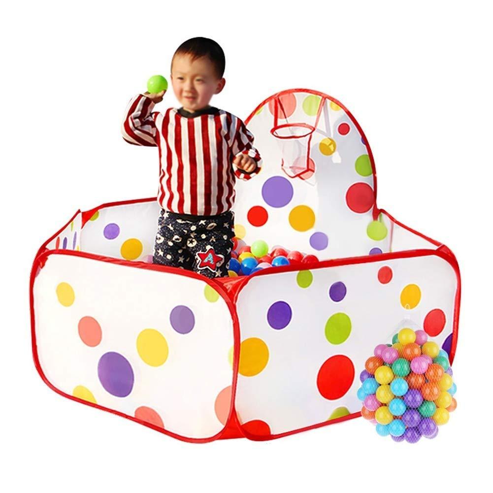 hermoso 100 balls Parque De De De Juegos Para Bebés Juego Portátil Patio Niño Tienda De Campaña Piscina De Bolas Para El Océano Piscina Para Niños Juego De Cercas Foldos De Juguete En El Hogar Projoección De La Bola Para   60% de descuento