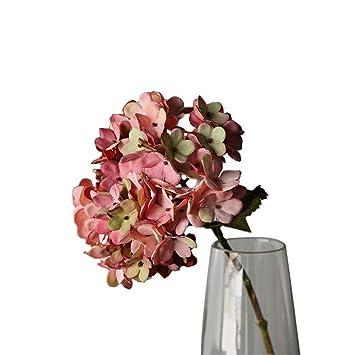 RemeeHi Ramo de Flores Artificiales para decoración de casa, Flores Artificiales para Manualidades, Plantas de Interior, decoración para Fiesta, Boda, ...