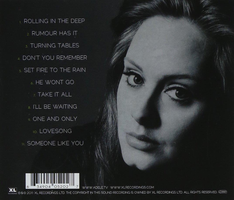 Adele 21 скачать бесплатно mp3
