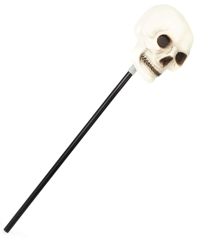 Cetro con calavera, ideal para Halloween: Amazon.es: Juguetes y juegos