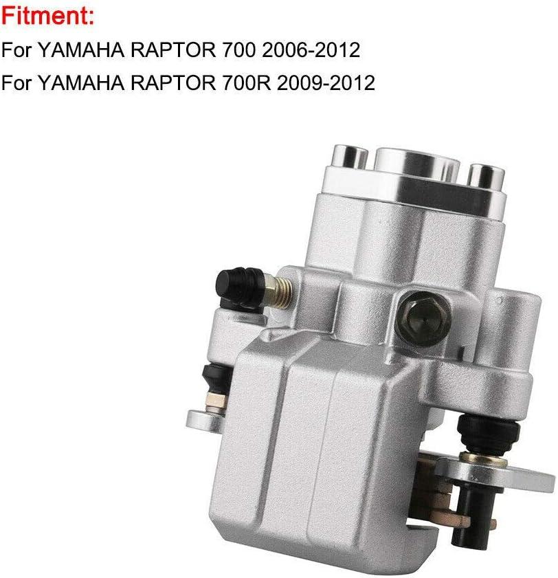 Rear Brake Caliper for Yamaha ATV Raptor 700 2006-2012 Raptor 700 2009-2012 YFM700R 1S3-2580V-00-00 With Pads