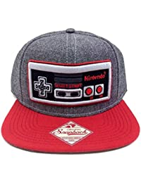 best sneakers 336e8 d0fc3 Controller - Snapback Hat, Gray and Red, One Size