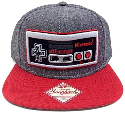 Nintendo Controller Snapback Gray Size
