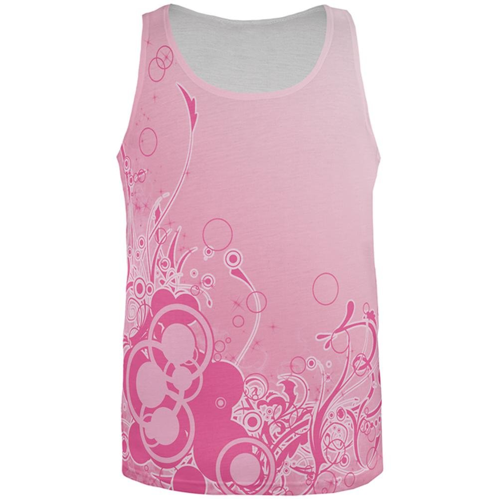 Old Glory Pink Ombre Day Dream All Over Mens Tank Top