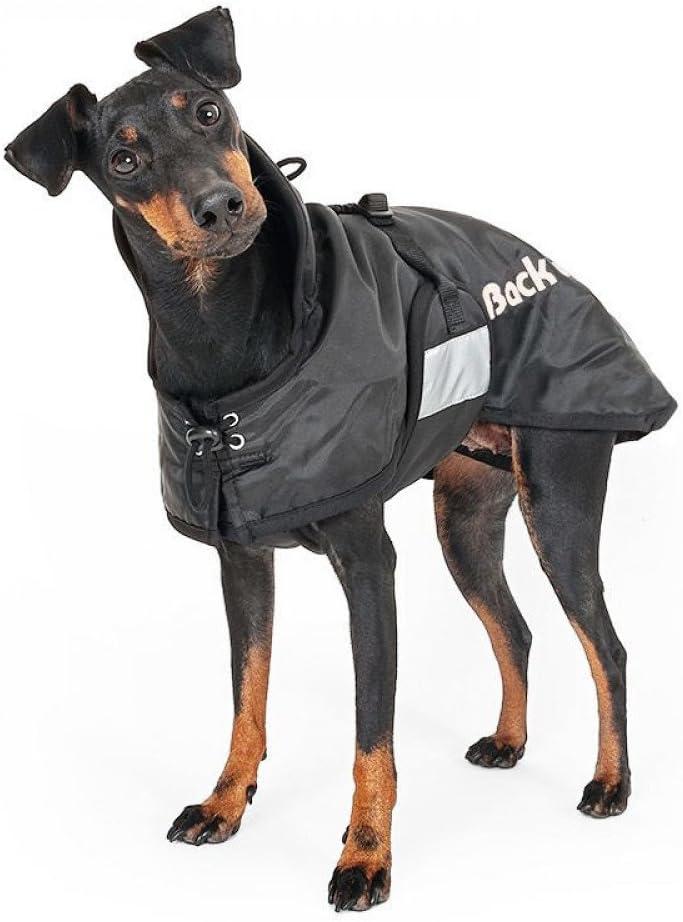 Back on Track Cappotto per cani standardmantel Nero