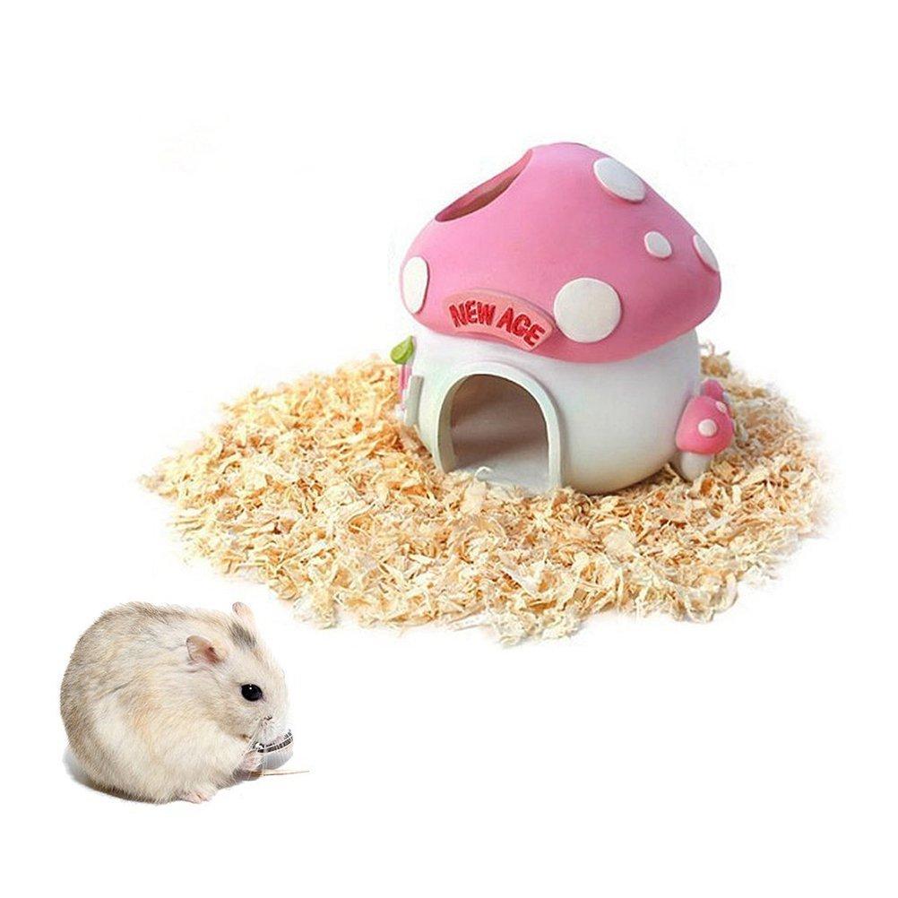 ULOOIE - Jaula para mascotas con diseño de hámster en la casa o en ...