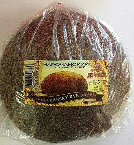 (European Narochansky Rye Bread (Sourdough) Pack of 2)