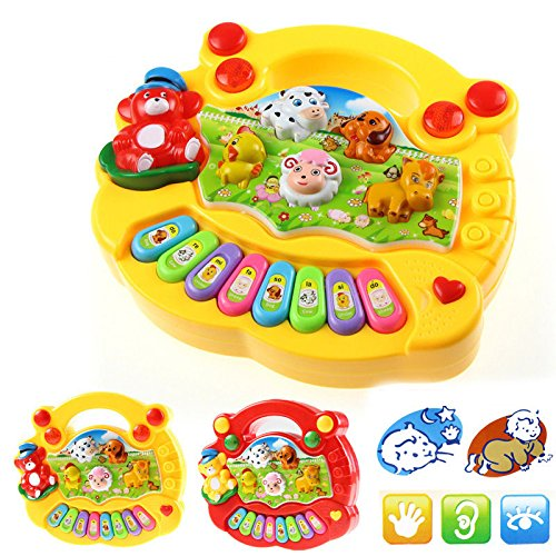 New Baby Kids Musical Educational Animal Farm Piano Developmental Music Toy Gift from perfectyou05