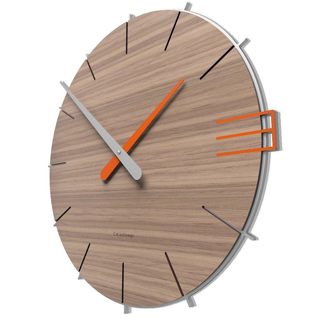 CalleaDesign 壁時計 Mike イタリアのデザイン (クルミ缶詰) B01LT6GLCE クルミ缶詰 クルミ缶詰