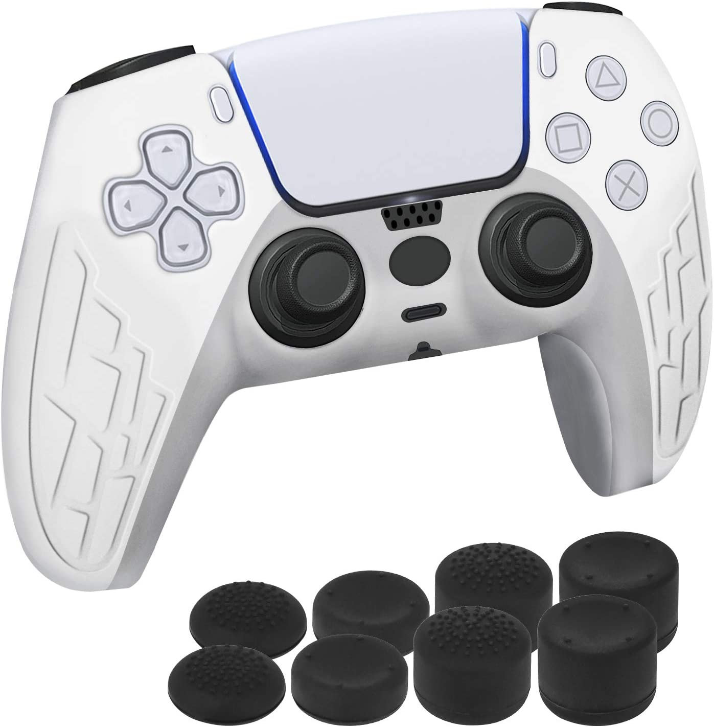 DLseego PS5コントローラー用保護カバー セット
