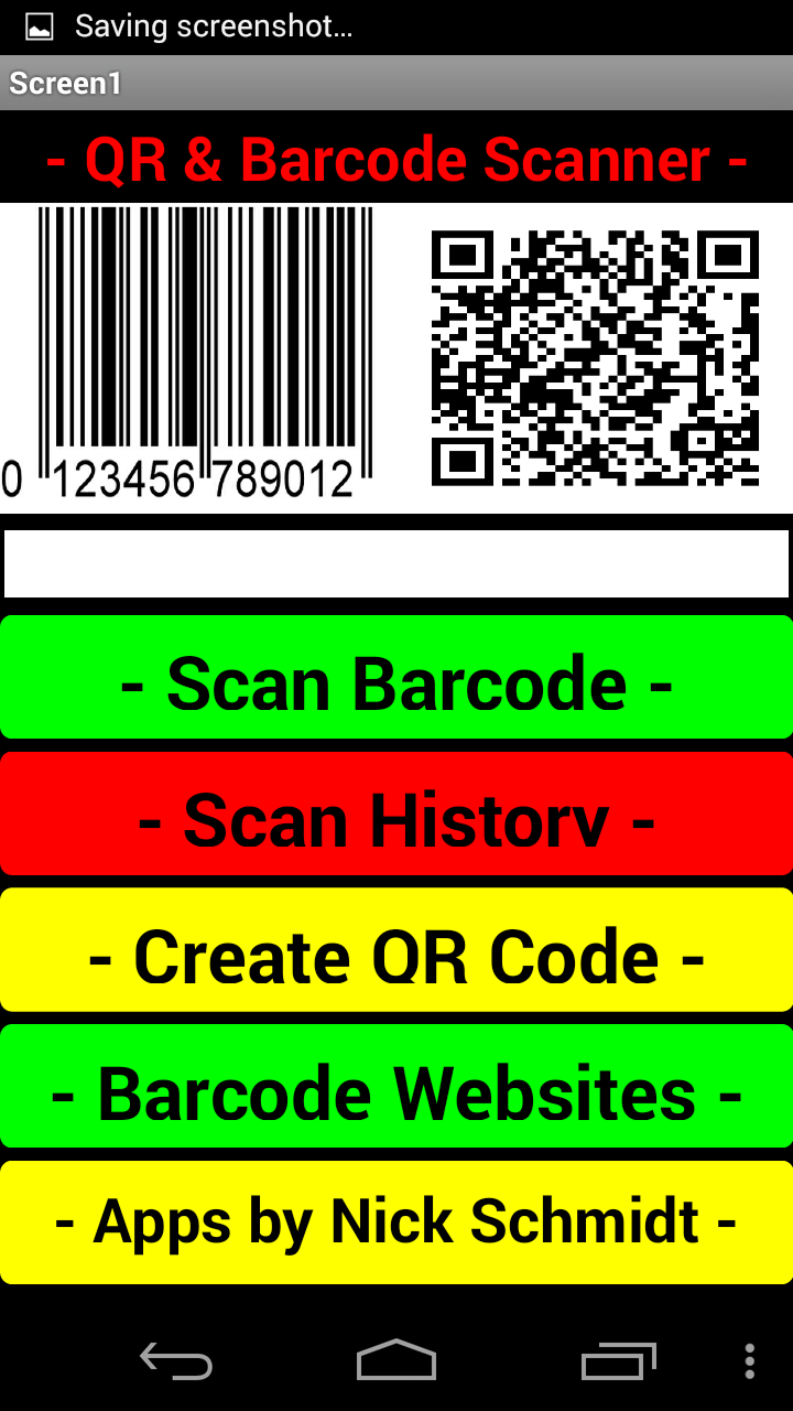 Amazon com: QR Barcode Scanner & Generator: Appstore for Android