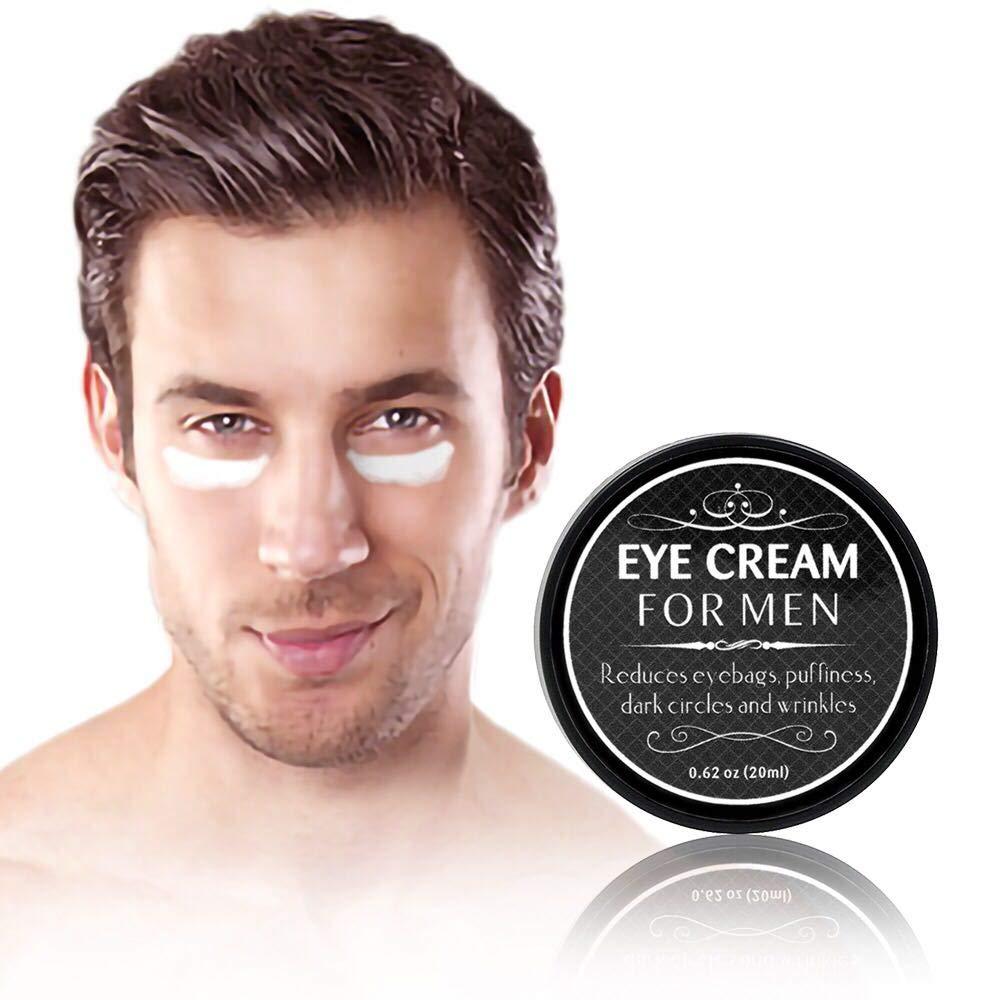 Eye Cream for Men-Kinbeau Eye Cream for Men,Anti-Aging Eye Cream,Total Eye Balm To Reduce Puffiness, Wrinkles, Dark Circles and Under Eye Bags (Black) by Kinbeau
