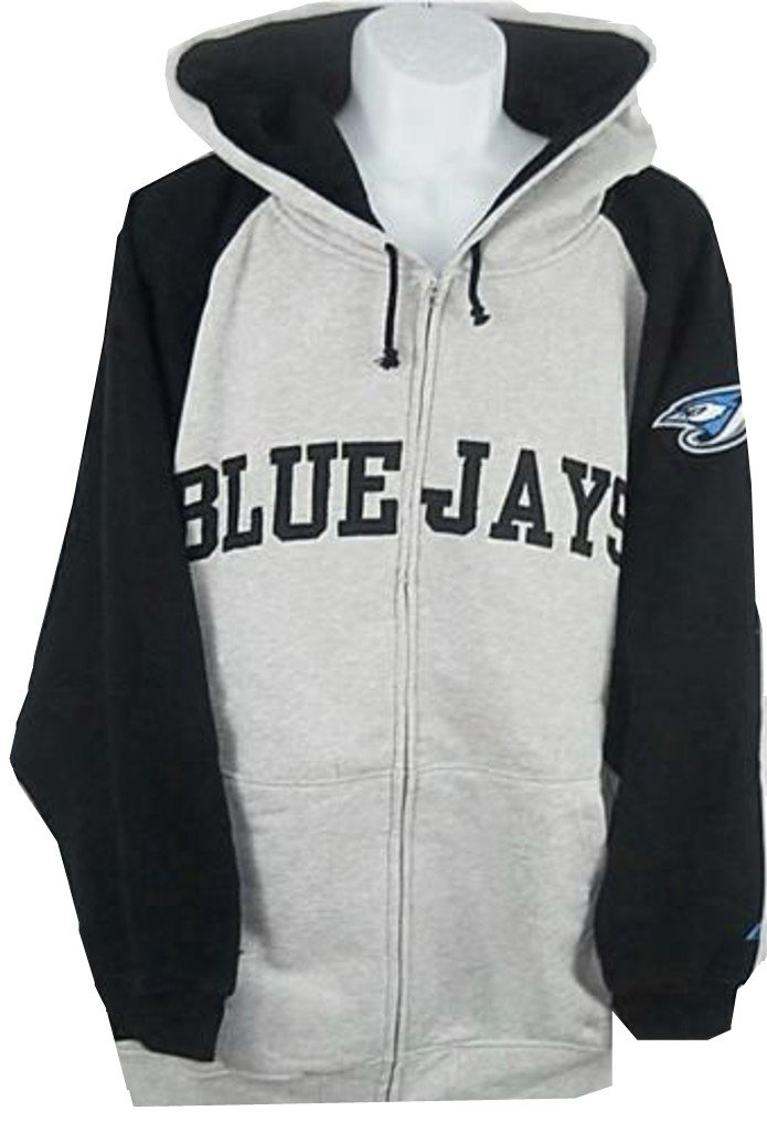 official photos 4bae4 14c6d Amazon.com : Majestic Toronto Blue Jays MLB Mens Full Zip ...