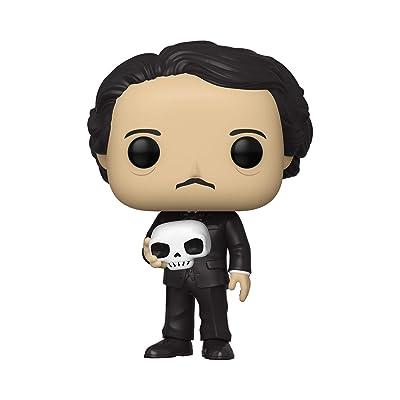 Funko Pop! Icons: Edgar Allan Poe w/ Skull: Toys & Games