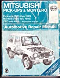 Haynes Mitsubishi Pickup and Montero, 1983-95, Haynes Publications Staff, 1563921537