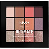 NYX PROFESSIONAL MAKEUP Ultimate Multi-Finish Shadow Palette, Sugar High, 0.48 Ounce