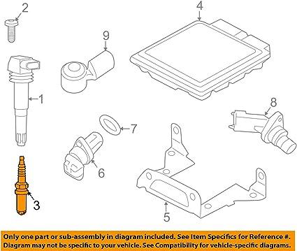 Set of 8 Porsche 911 Cayenne Panamera Spark Plugs FR6NPP332 Bosch