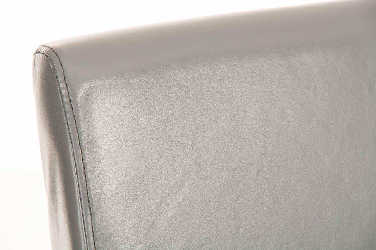 Clp sgabello alto bar alvin fodera in similpelle e telaio in