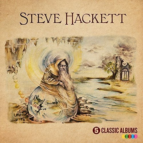 CD : Steve Hackett - 5 Classic Albums (United Kingdom - Import, 5 Disc)