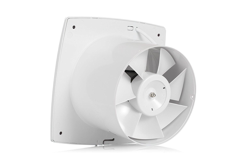 HonGuan 6'' Home Ventilation Fan Bathroom Garage Exhaust ...